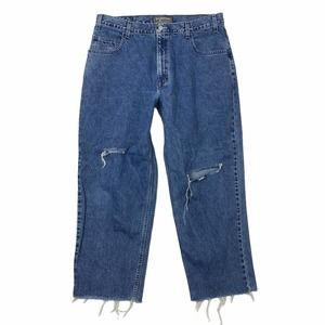 Levi's SilverTab VTG Baggy Loose Distressed Jeans